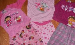 Size 3T Girls clothing - Like NEW condtion, smoke-free home   Picture 1: Pajamas, Dora & Toopy&Binoo Picture 2: Long Sleeve Shirts, Turtlenecks Picture 3: Long johns, Dora & Gerber Picture 4: Sweaters Picture 5: Hooded Sweater TCP Picture 6: Navy Blue