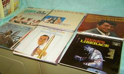 Selling 42 long play albums rock, country, big band etc. $50 obo.