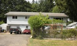 # Bath 2 Sq Ft 2184 # Bed 4 4+ bedroom home for sale in Cedar BC, 15 mins south of Nanaimo on a quiet street. Wonderful .25 acre fully fenced yard with an above ground pool surrounded by an enclosed deck, large lawn area, fire-pit, horseshoe pitch and