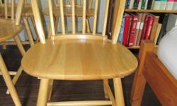 Just a bit of work will get you 4 lovely chairs. 2 of the chairs require gluing and tightening.