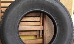 These tires are from a 1995 Mitsubishi Delica SpaceGear van and are in good shape (I replaced them with a more aggressive tire after the van was imported from Japan).  They have life left on them and are best suited for urban use. They would also make for