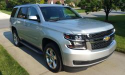 Make Chevrolet Model Tahoe Year 2015 Colour Silver kms 115000 Trans Automatic Like New Condition Non Smoker Leather is in Great Condition Heated Seats Navigation On-Star Equipped Upgraded Chevrolet All Weather Floor Mats. We are non-smokers. It has been