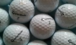 all are recently found, cleaned, washed, and ready to go! buying new golf balls at $4-5 each is stupid! other brands are also available...see my other ads
