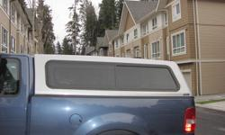 Good Condition 6.5 Foot Box Silver Canopy For F150