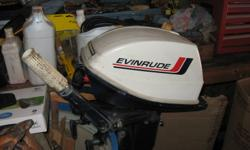 I have a 1968  6hp Evinrude for sale, its in real nice condition, very clean and easy to start just had a new coil and fuel pump, it would make a nice kicker motor or would be great for a 12ft boat It won't last long