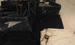 8 pairs of jeans 2 size 8 6 size 10 8 for $15 (#303 Route 14 Coleman)