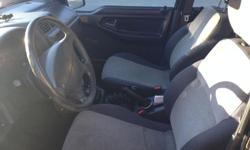 Make Chevrolet Model Tracker Year 1998 Colour black kms 298627 Trans Automatic Geo Tracker Hard Top 4-Door 4x4 Locking Hubs Starts but doesn't run. Needs: Fuel Pump Brakes Muffler Has a fairly new battery Has new spark plugs Has a new distributor cap Has