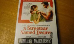 Elia Kazan's masterpiece film based on the play by Tennessee Williams. Now restored to its original director's vision as it was censored by the Legion of Decency at the last minute. Nominated for 12 Academy Awards and winner of 4. Marlon Brando in one of