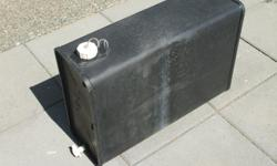 ABS approx. 10 gallon water tank for RV, Boat, Camping, etc. Great for auxiliary water and/or sun shower.