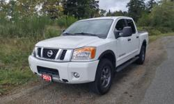 Make Nissan Model Titan Year 2013 Trans Automatic kms 105200 Looking for a Powerful, Reliable, and Spacious Truck with some Awesome Features? Well look no further! This 2013 Nissan Titan PRO-4X is all that and more! This Titan comes with the PRO-4X