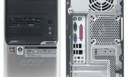 Refurbished Acer Aspire T180 Desktop, 1.9GHz, 4GB Ram, 250GB 7200RPM HDD, Windows 10 Home Premium( activated with a digital entitlement, means genuine ), MS Office, Anti-Virus, Mouse, Keyboard included. Fresh Upgrade and Updated. Fast, Clean & Reliable.