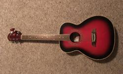 Oscar Schmidt good beginner guitar in very good condition.