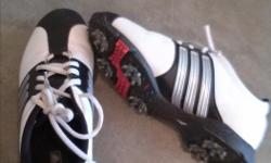 Adidas Golf shoes - Child size 3. Only used a few times. Nice golf shoes for a young golfer.