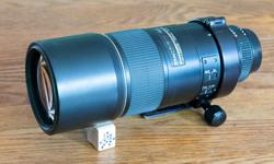 Probably the most versatile work horse lens ever made. I am the original owner of this lens and it has been a tremendous performer for me since day one. I originally used it for bird photography as a 300mm, and with the TC-14E II as a 420mm. After I