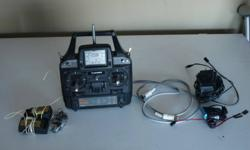 for sale is my airtronics - AR6000 - it's a 6 channel - 4 model memory - digital remote control for heli or aircrafts that are remote control.  It operates on 72ghz - and has crystals for channel 20 included in all 4 RX's or recievers.   there are 2