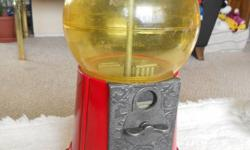 """A great item for the collector, what a kool gift for xmas. All metal with Plexi ball. approx 14"""" high. May need a bit of tlc to make functional, I have not tested it with any coins. Please include your phone number with any questions, NO EMAIL TAG! Priced"""