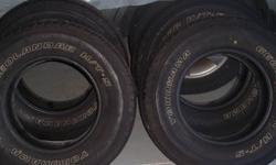 yokohama all season tires set of 4 p245/70R1610