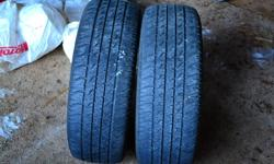 For sale: 2 Cavalier All-season tires, P195/60R15. $60.00. Call 709-335-2393.