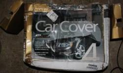 High Quality Car Cover For Sale Used for 1 week - not kidding. Sold my 2007 Mustang that I was using it for High quality cover, not like the kinds you buy at canadian tire. I ordered online. Pictures are below Asking $75.00 OBO Email if interested - Comes