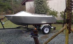 Brand new custom made 12 ft run-about boat with new trailer, 5083 marine grade aluminium 1/8 plate, weighs around 300 lbs, rated for max 30 hp outboard. Boat is located in Coombs/Errington, need cash to finance bigger boat builds! Come take a look if you