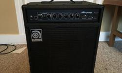 Brand new condition, great ampeg sound.