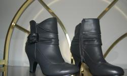 Nearly new grey Tender Tootsie ankle boots, size 7. Very stylish but heel a bit too high for me.