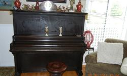 Antique piano...built by Krydner of Oshawa, Canada.   Playable, but should be tuned and needs some minor repairs.    Piano stool not included. Contact me at mailto:cathiecor@shaw.ca or call 604-941-2418