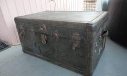 Two large steamer trunks in good condition.  One $50; the other $75.  250-352-2991