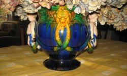 This beautiful antique vase will compliment any household.   A STEAL AT $125.00