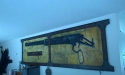 Large wall piece. 12' by. 3' 800$ obo