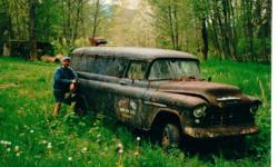 Make Chevrolet Model 3500 Year 1955 Colour Black kms 123 Looking for 1955 1956 and 1957 Chevrolet panel trucks in ANY condition - smashed, rusted. All leads appreciated!