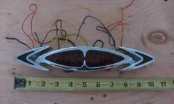 Arlen Ness LED Cateye tailight/turnsignal assembly with backing plate, asking $125 O.B.O