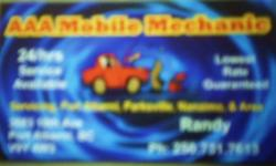 Visit    http://www.kernmotors.ca     for further details   Do you need repairs done on your car or truck and are looking for reliable, honest and fair pricing, then call, text or e-mail me with your Year, Make, Model and Performance complaint; and i'll
