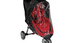 Brand new - never used (out of the box) Designed to help keep your child dry in rainy weather, this rain/wind canopy fully encloses the front and side of your stroller while providing ventilation at the same time. From a smoke and pet free home. Pick up