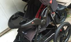 Baby Trend Convoy DX stroller, brand new! Used a handful of times. Have 2 strollers, so don't need this one. Bought for $250 plus tax less than 1 year ago.