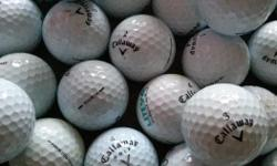 all are recently found and ready to go another round! buying new golf balls at $4-5 each is stupid! other brands and other 'golf stuff' is also available...see my other ads