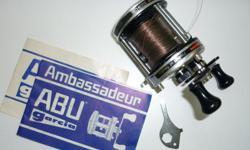ABU Ambassadeur 6500C bait casting reel. $50. Phil 250-652-9747