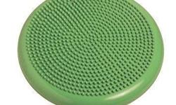 The Balance Cushion is a versatile core stability cushion that easily adjusts for your challenge level. Used while standing, kneeling or sitting, this disc improves balance and joint stabilization, strengthens and tones core muscles, and encourages proper