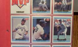 Lots of different sets of cards; Donruss McDonalds 1992 which includes the Toronto Blue Jays 6 card sub-set ($10), Fleer 1990 Anniversary Set of 660 cards and 45 stickers - Factory Sealed - ($20), Fleer Ultra 1992 Series 1 - set of 300 cards ($15), The