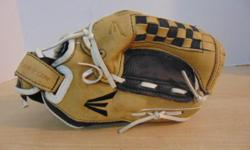 Baseball Glove Size 11 inch Child Easton Professional Leather Tan Black Fits Left Hand PRICE IS FIRM. Payment choices are: Debit, Visa, M/Card and Cash PLEASE CLICK ON THE WEBSITE LINK AT THE BOTOM OF THE USED VICTORIA AD. YOU VIEW OUR ENTIRE STOCK Of