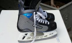 Bauer supreme Accel skates kids size 3. Great shape