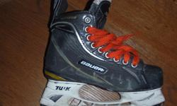 Bauer One 70 skates,size 5.5,great shape,new blades(cost $100.00)