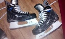 Used one season, in great shape. Bauer Supreme 30, skate size 5.5 $45.00 firm