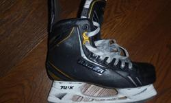 Bauer Supreme One.7 hockey skates,sz 6.5,great shape,superfeet insoles