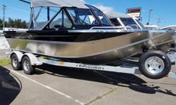 """2018 Northwest Boats 208 Seastar Outboard THE FULLY EQUIPPED SEASTAR WON'T TAKE NO FOR AN ANSWER. SHOULD YOU? As with other Northwest Boats, the 208 Seastar Outboard gives you more, feature for feature. From the Seastar's spacious 78"""" bottom width, 34"""""""