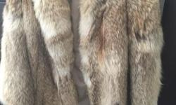 I have a beautiful 3/4 length Coyote fur coat for sale that would make a wonderful gift for someone in a colder climate. I have take very good care of it, it is in excellent condition and hardly ever worn! I paid $2000 for it and I am now asking $500.