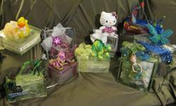 Beautiful hand made lighted glass blocks. Use as Christmas decorations, night lights, gifts, or anything your imagination can think up. More pictures upon request. $35.00 - $45.00