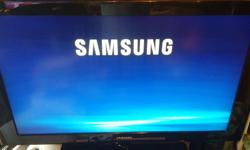 SAMSUNG 40 INCH T.V COMES WITH 3 HDMI INPUTS AND YOUR REMOTE ,YOU ARE VERY WELCOME TO SEE IT WORKING ON CABLE AND COMES ON ITS OWN STAND / AND REMOTE PLEASE NOT PRICE HAS BEEN REDUCED WAS $375 ) THANKS PLEASE PHONE 250-741-7777