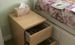 2 drawer, almost new