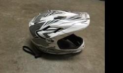 Bell full face BMX helmet size small. A few scratches but good condition